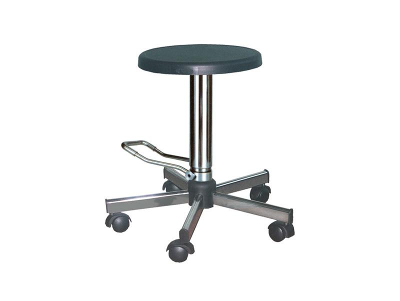 Стул имеет устойчивое основание, снабженное 5 поворотными колесами...  СМПП-01 - стул медицинский без спинки с...